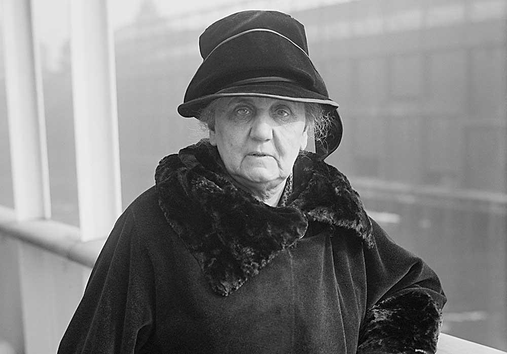 Jane Addams. Photo courtesy Library of Congress.