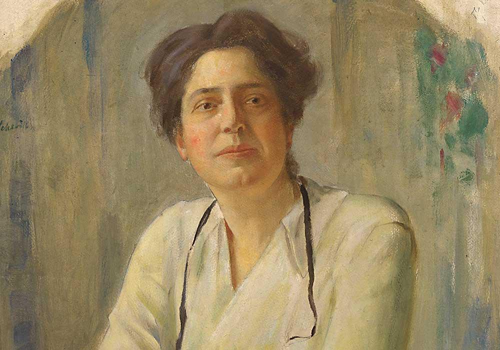 Lillian Wald. Photo courtesy National Portrait Gallery, Smithsonian Institution.