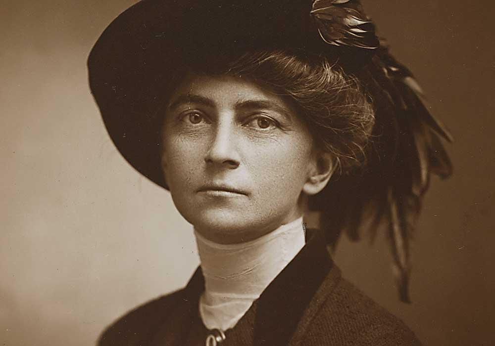 Edith Elmer Wood. Photo courtesy Columbia University.