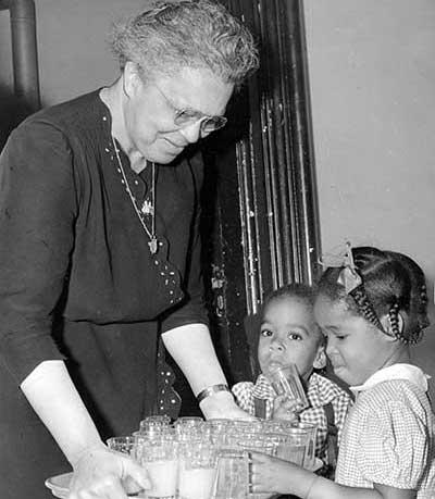 Jane Edna Hunter. Photo courtesy CSU-Michael Schwartz Library.