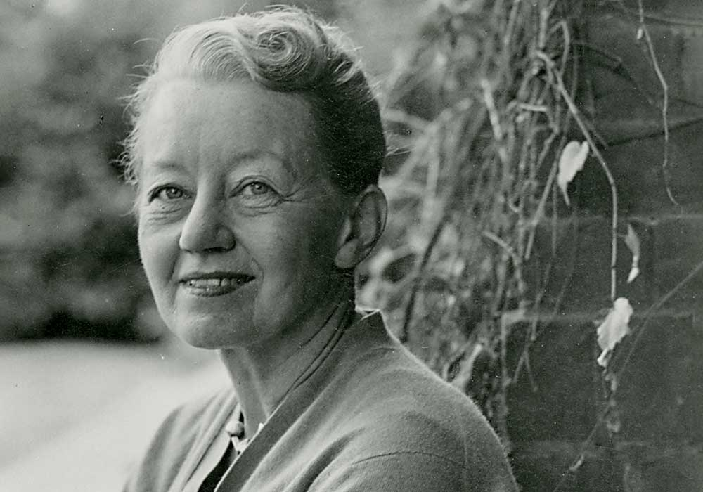 Catherine Krouse Bauer Wurster. Photo courtesy Environmental Design Archives, UC Berkeley.