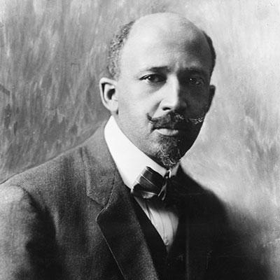 W. E. B. DuBois. Photo courtesy Library of Congress.