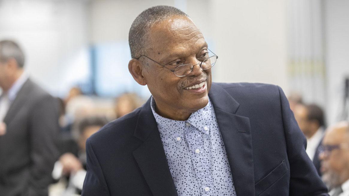 William Wilson in 2019. Photo by Kris Snibbe/Harvard University.