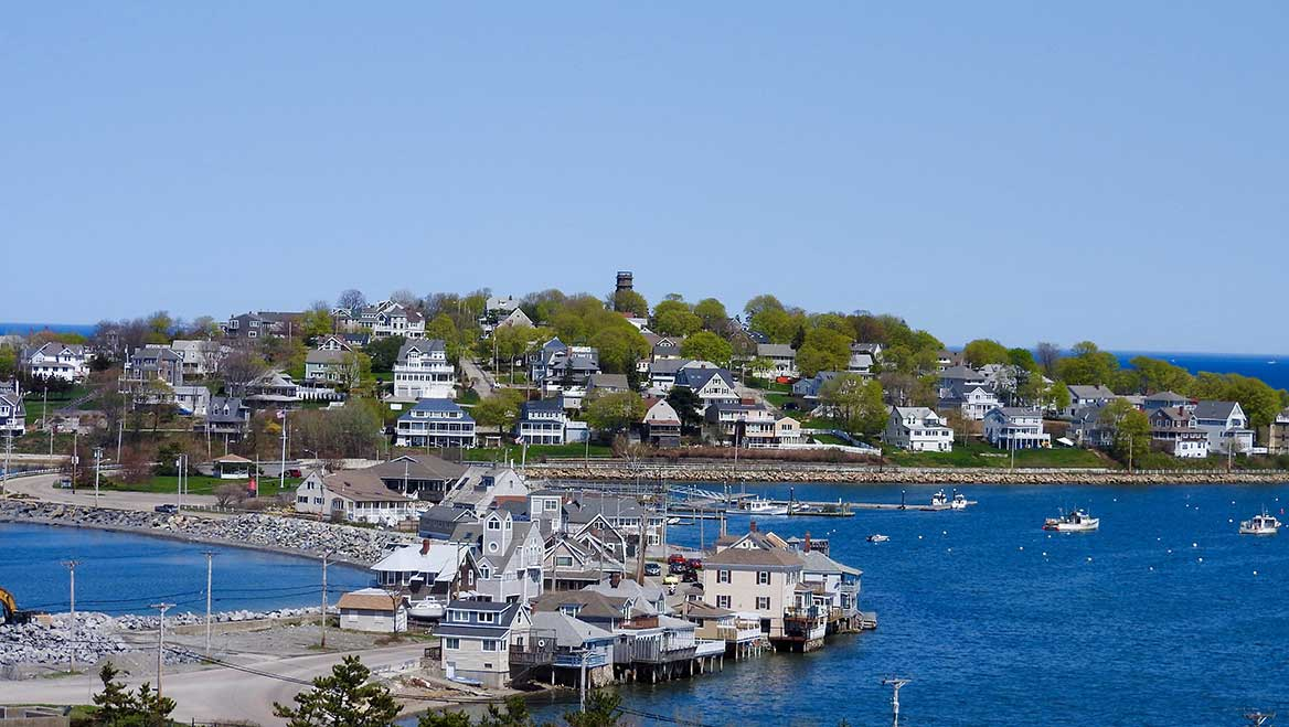 Preparing for climate change means making tough choices. A 2019 case study outlined scenarios for Hull, Massachusetts. It showed that in order stay in place and just elevate roads and buildings, by 2060 it would cost the city more than $98.8 million for critical infrastructure, while single-family homeowners could have to shell out more than $145 million. Photo courtesy Howderfamily.com.