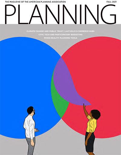 Planning magazine image