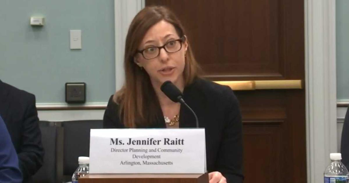 Jennifer Raitt Testifies before Congress on climate change and resilient communities.