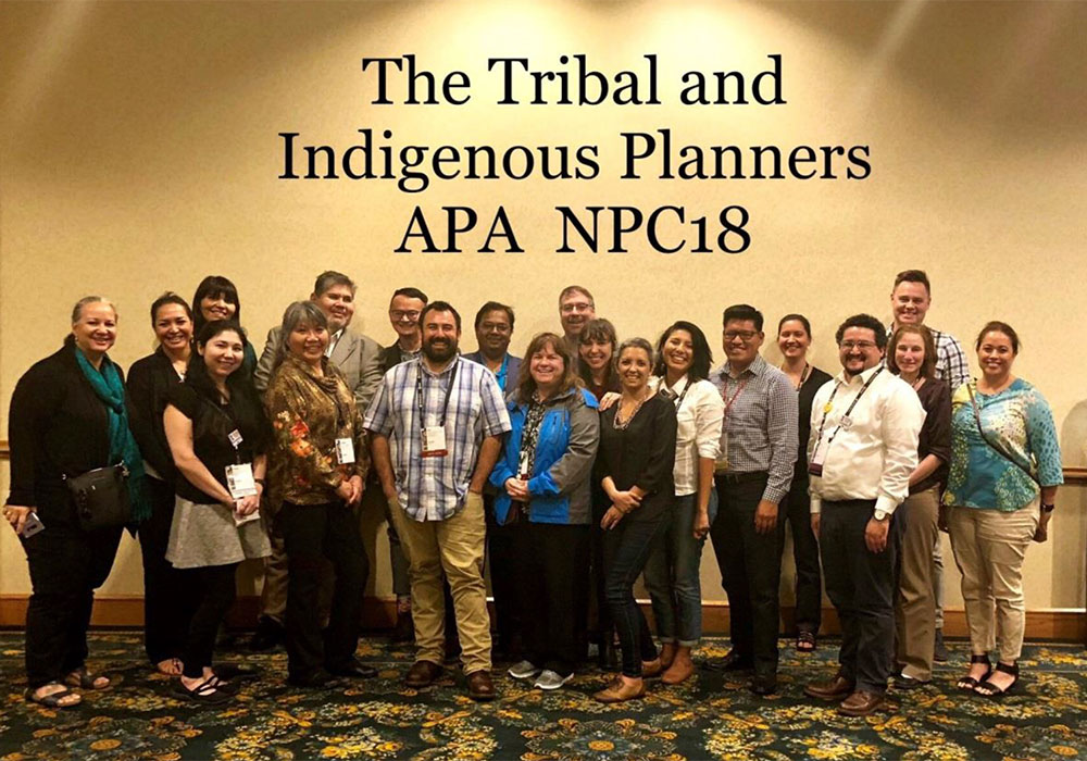 Tribal and Indigenous Planning Interest Group at NPC18