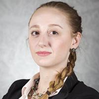 Headshot of Amber Woodburn McNair.
