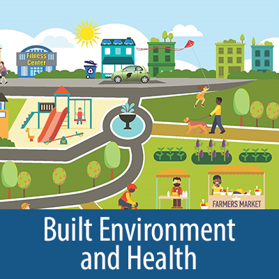 Built Environment and Health collection cover for carousel