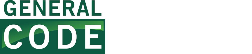 Logo of General Code.