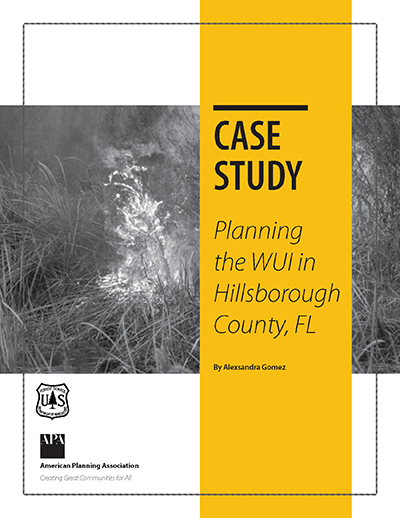Cover of Planning in the WUI in Hillsborough County, FL