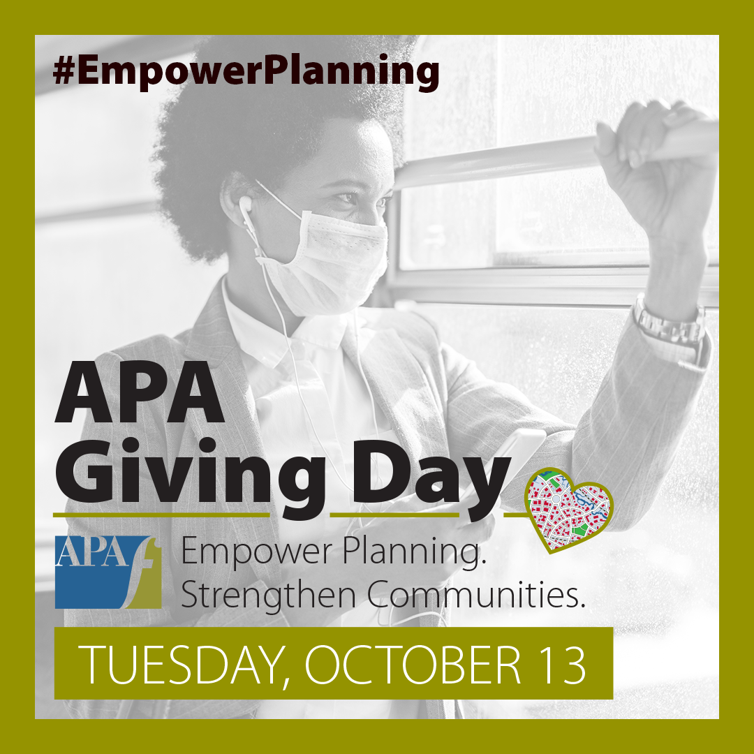 APA Giving Day 2020 Foundation graphic