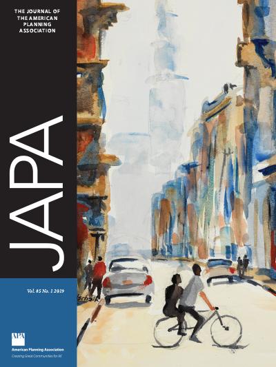 JAPA Winter 2019 cover.