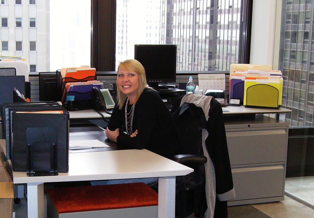 Lynn Jorgenson in APA's Chicago office.