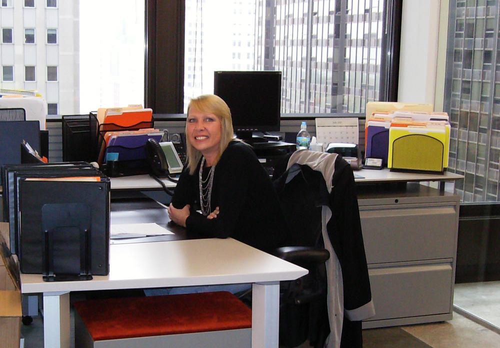 Lynn Jorgenson in APA's Chicago office.