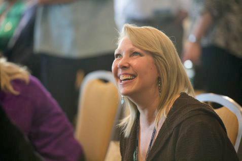 Lynn Jorgenson at the 2014 National Planning Conference Leadership Plenary in Atlanta.