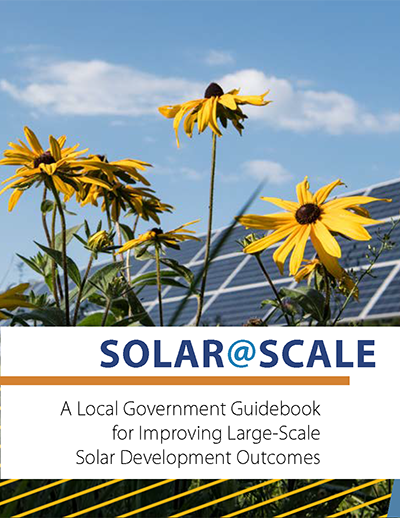 Cover of Solar@Scale guidebook