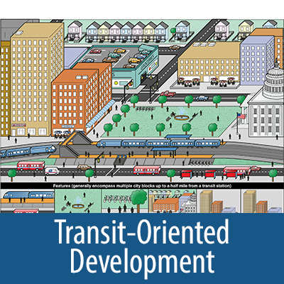 Transit-Oriented Development collection cover for carousel