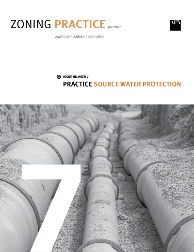 Cover of July 2020 Zoning Practice