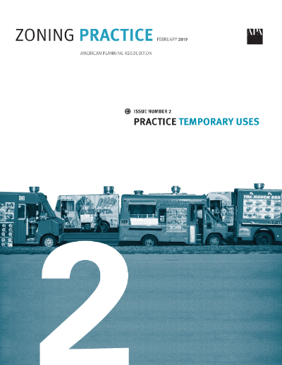 Cover of February 2019 Zoning Practice
