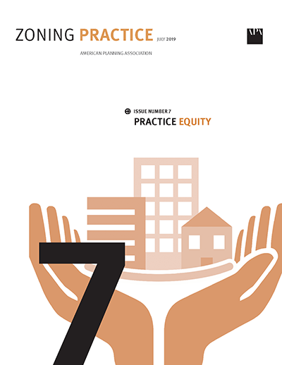Cover of July 2019 Zoning Practice