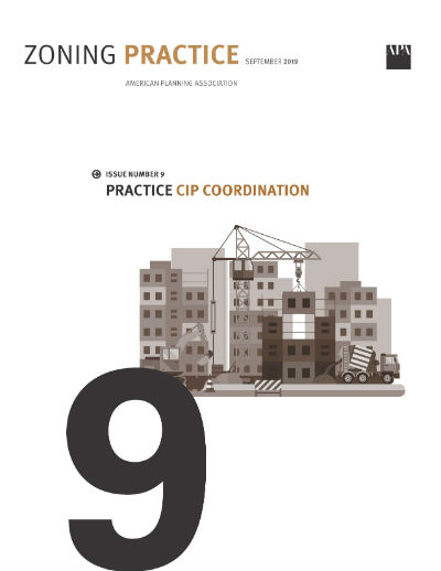 Cover of September 2019 Zoning Practice