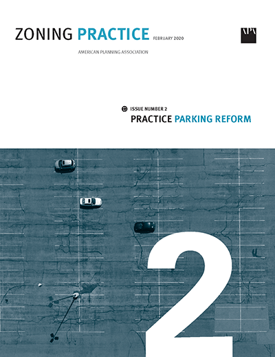 Cover of February 2020 Zoning Practice