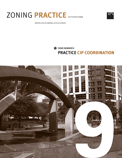 Cover of September 2020 Zoning Practice