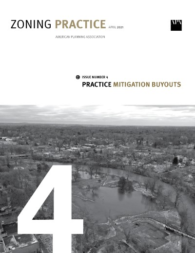 Cover of Zoning Practice April 2021