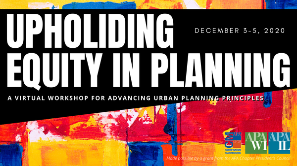 Image for Upholding Equity in Planning
