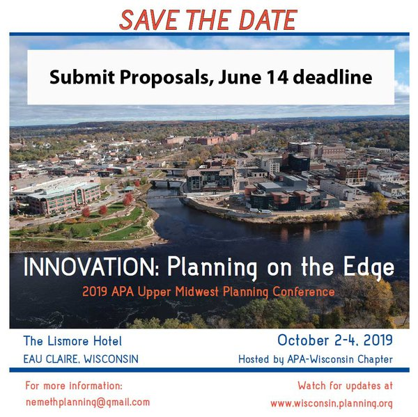 Conference 2019 Submit Proposals homepage