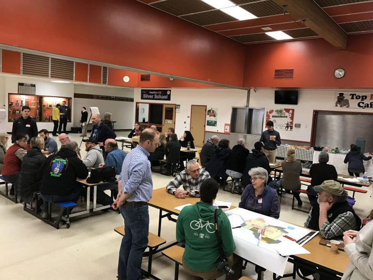 Workshop at the local high school in Willamina, Oregon in March 2017