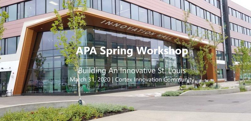 APA St. Louis Spring Workshop 2020