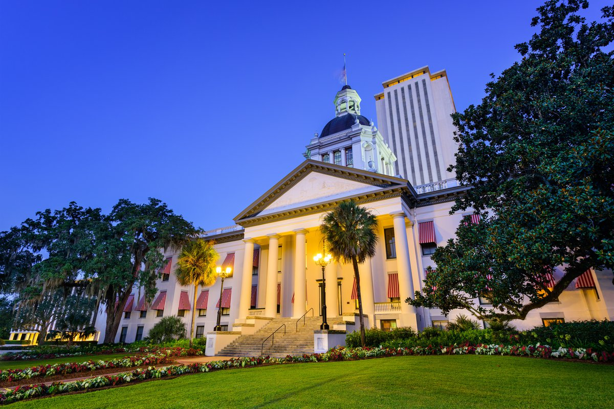 Historic Florida Capitol Building