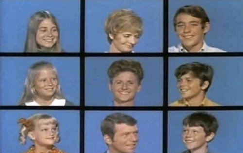 Brady Bunch Zoom