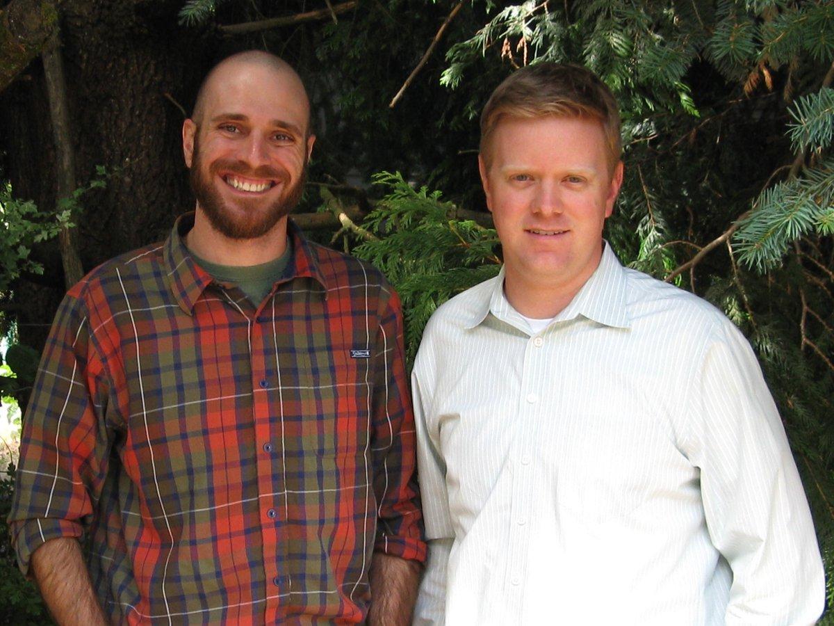 Photo of Chris Damgen and Ryan Kreuger