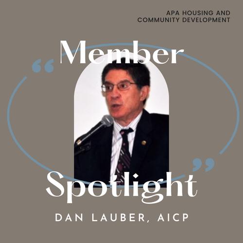 Dan Lauber, AICP
