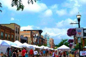 WCC Downtown Fargo Street Fair ND