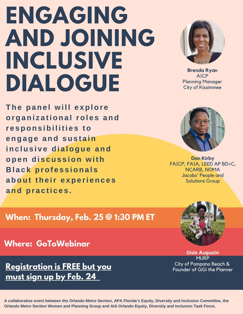 Engaging and Joining Inclusive Dialogue