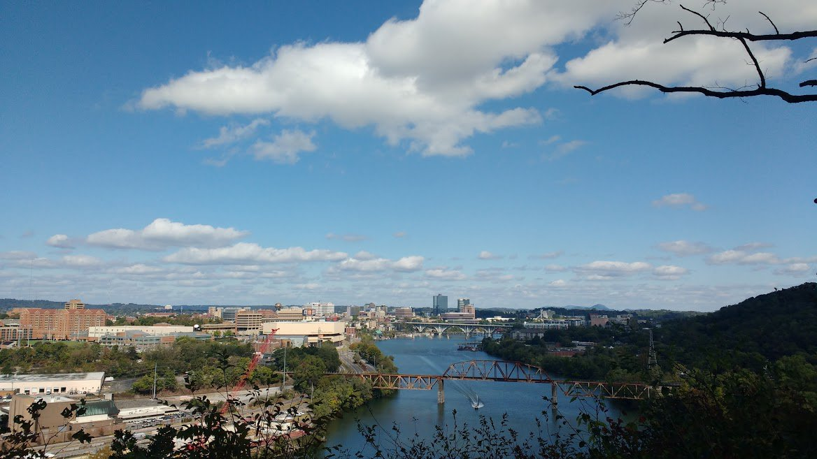Tennessee River in Knoxville