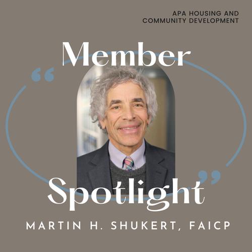 Martin H. Shukert, FAICP