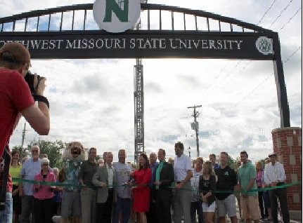 Maryville 4th Street Ribbon Cutting