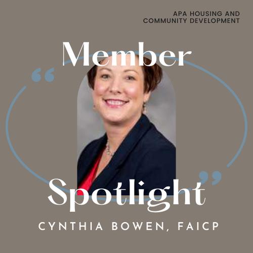 Cynthia Bowen, FAICP