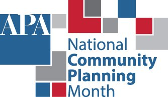 Community Planning Month Logo APA