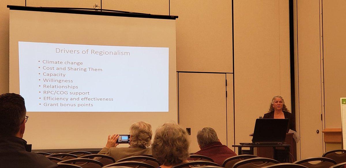 Judy East at Maine Municipal Association Convention - 2019