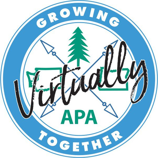 Conference logo for the Oregon-Washington VIrtual Joint Conference