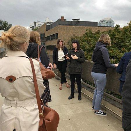 OAPA Campus Tour discussion, 2019