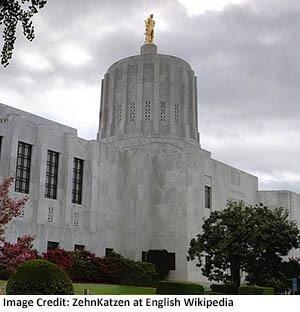 State Capitol Building, Salem, Oregon