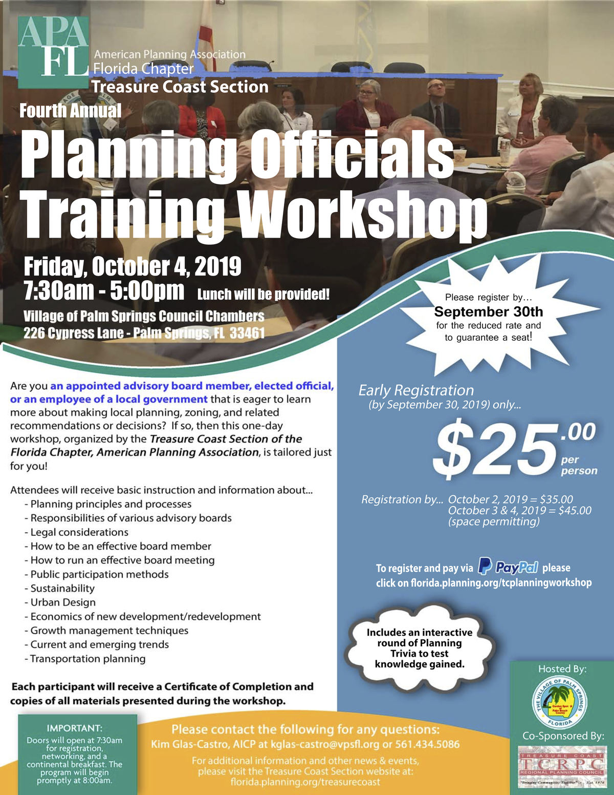 planning officials workshop flier udpated