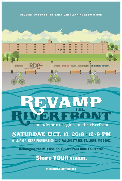 Revamp The Riverfront Poster